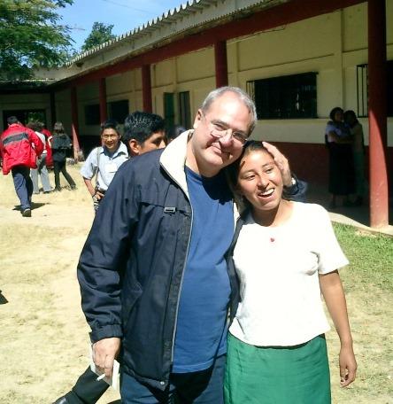 Antonio Pacheco en Chiapas
